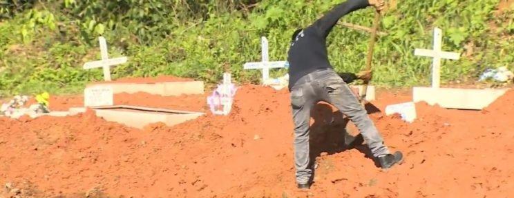 Rondônia registra 45 mortes por Covid e 1.319 casos nesta terça-feira (13)